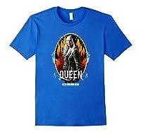 The Walking Dead Queen Carol T-shirt Royal Blue