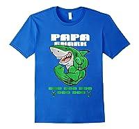 Milwaukee-buck Shark Doo Doo Basketball T-shirt Royal Blue