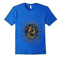 May Girl The Soul Of A Mermaid Tshirt Birthday Gifts T Shirt Royal Blue