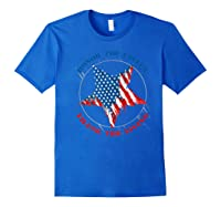 Honor The Fallen Thank The Living Veteran's Day Gift Tee Premium T-shirt Royal Blue