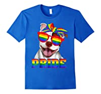 Pit Bull Pride- Gay Pride Shirt 2018 T-shirt For Royal Blue