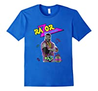 Wwe Nerds - Razor Ramon T-shirt Royal Blue