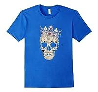 Skull King Crown Jewels Shirts Royal Blue