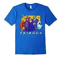 Friends Halloween Horror T Shirt Royal Blue