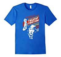 Soviet Vintage 86 45 Impeach Trump Traitor Premium T Shirt Royal Blue