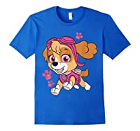 Paw Patrol Skye Jumping T-shirt Royal Blue