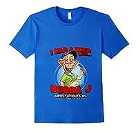 Bubba J Airway Heights Wa T Shirt Royal Blue