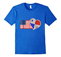 Pa T-shirt Usa Flag Spanish Tea Spanish Quotes Royal Blue