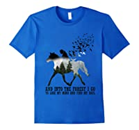 Trending Gift Shirt I Go To Lose My Mind And Find My Soul T Shirt Royal Blue