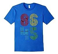Vintage Impeach Trump T Shirt Not My President 86 45 Donald Royal Blue