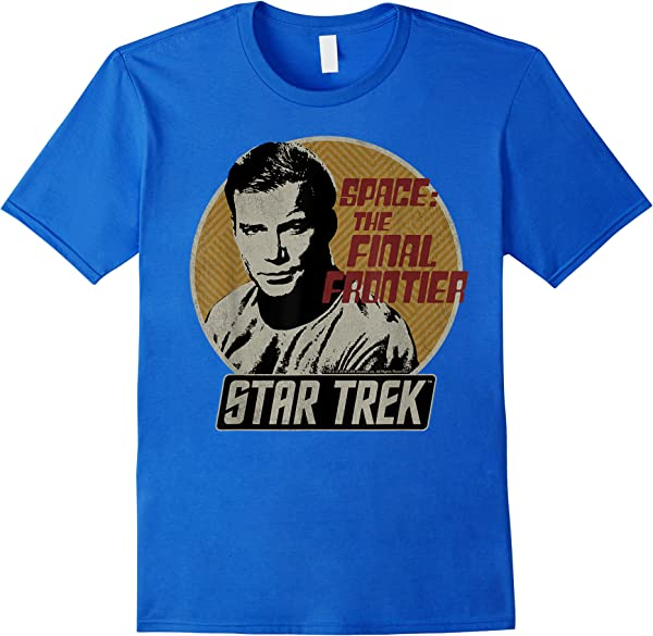 Star Trek Original Series Kirk Retro Badge Graphic T-shirt