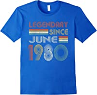 Legendary Since June 1980 41st Birthday 41 Years Old T-shirt Royal Blue