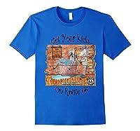 Bathing Burro Shirts Royal Blue