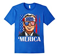 Joe Biden 2020 Merica 4th Of July Independence Day Usa T Shirt Royal Blue