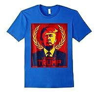 Comrade Trump Protest Resist Impeach Russia Propaganda Shirt Royal Blue