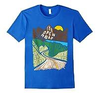 Road Trip 2019 Adventure Awaits Family Summer Vacation Gift Shirts Royal Blue