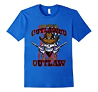When The Guns Are Outlawed T Shirt For And Royal Blue