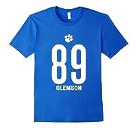 Clemson University Tigers 08amct1 Shirts Royal Blue