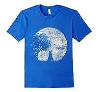 Nature Animal Gift Idea Easter Rabbit Moon Rabbit T Shirt Royal Blue