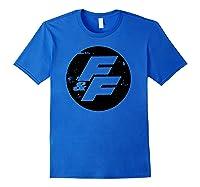 Fast Furious Distressed Circle Logo Pullover Shirts Royal Blue