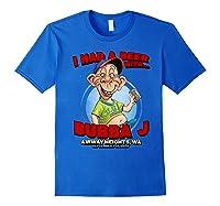 Bubba J Airway Heights Wa Shirts Royal Blue