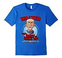 Walter Airway Heights Wa T Shirt Royal Blue