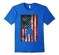 Flag Football Pittsburgh Lineman Gift Shirts Royal Blue