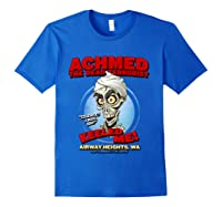 Achmed The Dead Terrorist Airway Heights Wa T Shirt Royal Blue
