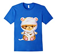 Mummy Bear Halloween Out Costume Party Gifts Pullover Shirts Royal Blue