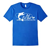 Reel Cool Dad Fishing Daddy Father's Day Gift Shirts Royal Blue