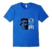 Che Che Guevara Revolutionary Leader Cuban Socialism Shirts Royal Blue