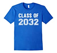 Class Of 2031 Grow With Me First Day Of School Shirts Royal Blue