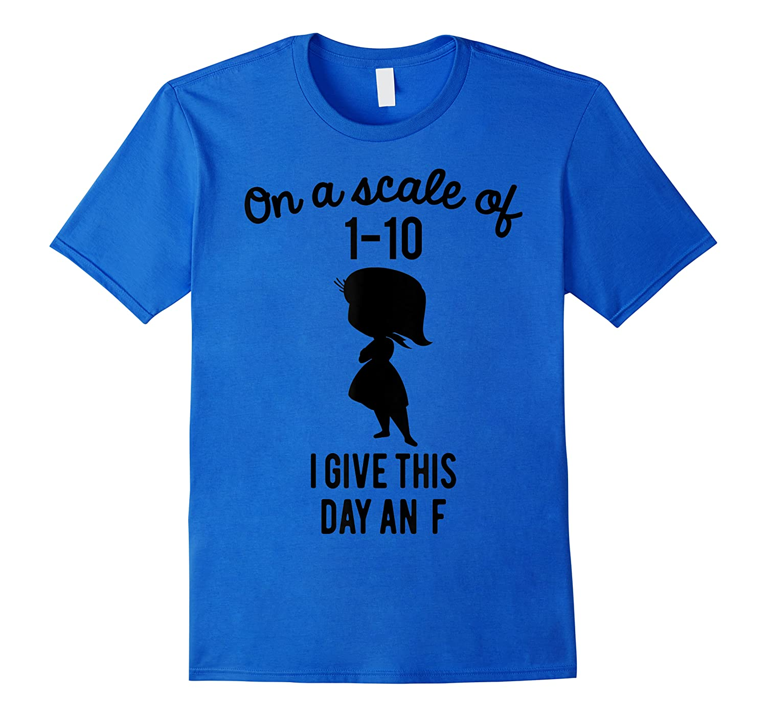 Pixar Inside Out Scale Of 1 10 Graphic Shirts