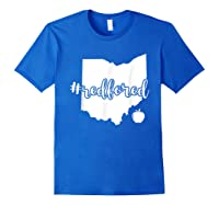 Red For Ed T-shirt Ohio Tea Public Education Royal Blue