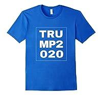 Trump 2020 Shirts Royal Blue