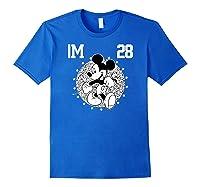 Disney Mickey Mouse Academy T Shirt Royal Blue