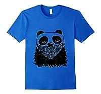 Panda Bandit Tshirt Royal Blue