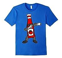 Ketchup Dab Pose T-shirt Royal Blue