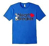 Disney Daisy Valentine Heartbreaker T Shirt Royal Blue