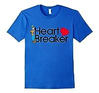 Disney Goofy Valentine Heartbreaker T Shirt Royal Blue
