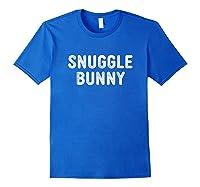 Snuggle Bunny Shirts Royal Blue