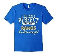 Ramos Family Reunion Shirts Royal Blue