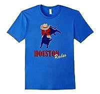 Rodeo 2019 T Shirt Houston Rodeo Cowboy Royal Blue