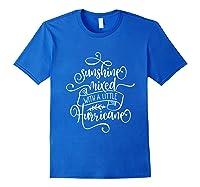 Sunshine Mixed Little Hurricane Shirts Royal Blue