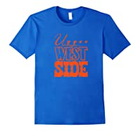 Upper West Side Grocery Store Tribute T Shirt Royal Blue