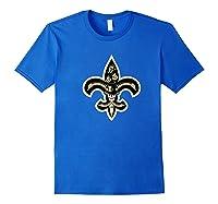 New Orleans Shirts Royal Blue