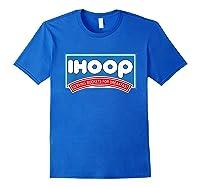 Ihoop Buckets For Breakfas Fun Basketball Shirts Royal Blue