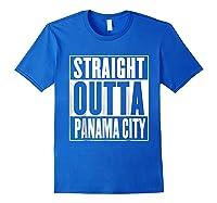 Straight Outta Pa City Shirt Royal Blue