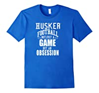 Nebraska Cornhuskers Husker Football Apparel Shirts Royal Blue