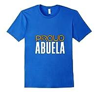 Proud Abuela Gay Pride Month Retro Lgbtq Shirts Royal Blue